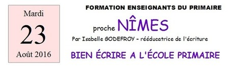 FORMATIONS ENSEIGNANTS | Isabelle Godefroy | Les troubles de l'écriture | Scoop.it