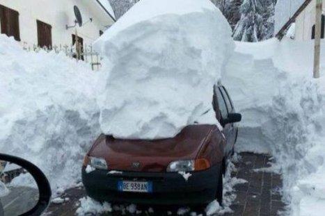 Plus d'un 1m50 de neige en Italie dans les Abruzzes | Pyrénées | Scoop.it