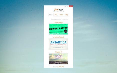 Font App | Web | Scoop.it