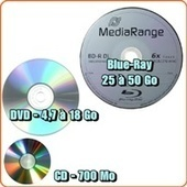 CD, DVD, Blu-Ray : des supports optiques pour stocker des données numériques | ORDI-SENIOR.FR | Section : Supports_de_donnees | Seniors | Scoop.it
