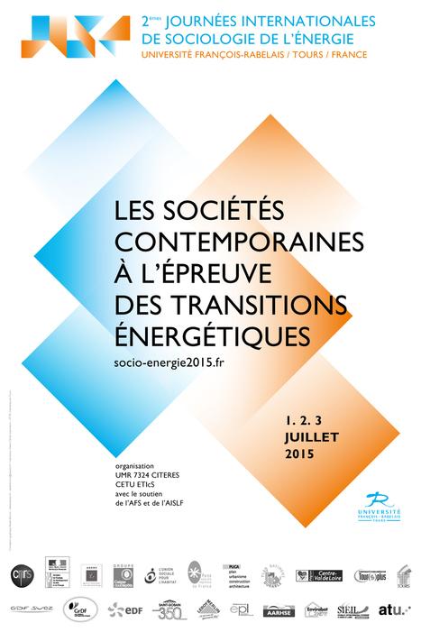 Journées internationales de sociologie de l'énergie | 1-2-3 juillet 2015 | C koa le DD | Scoop.it