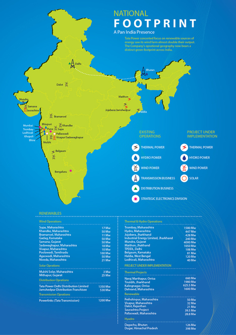 Hydropower Projects in India - Tata Power | Tata Motors International Aid & Project Vehicles | Scoop.it