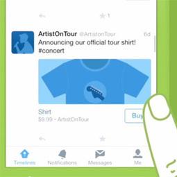 """El botón """"comprar"""" de Twitter hará su debut oficial para el público general a principios de 2015   customer experience   Scoop.it"""