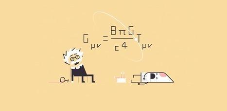 Animación explica la teoría de Albert Einstein, que cumple hoy 100 años | El Mundo del Diseño Gráfico | Scoop.it