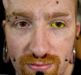 Awesome Tattoos: Tattoo On Eye Ball | Tattoo lesson plan | Scoop.it