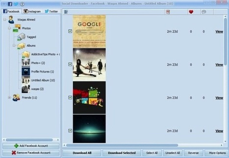 Social Downloader, scaricare le foto da Facebook e da Instagram - Geekissimo Blog (Blog) | Nico Social News | Scoop.it