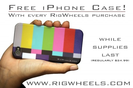 RigWheels Giving Away Free Color Bars iPhone Cases   iFilmmaking   Scoop.it
