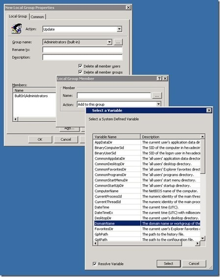Using Group Policy Preferences to populate Local Administrator Group | technology | Scoop.it