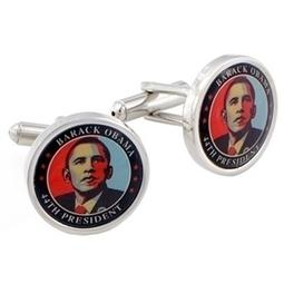 Obama Cufflinks | cufflink And tie Clips | Scoop.it