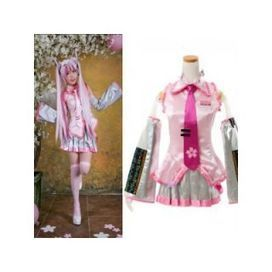 Vocaloid Hatsune Miku Sakura Cosplay Costume -- CosplayDeal.com | Cosplay Costumes at CosplayDeal.com | Scoop.it