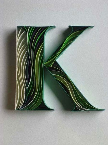 Amazing Paper Work Typography by Sabeena Karnik   freehand illustration and graphic design   Scoop.it