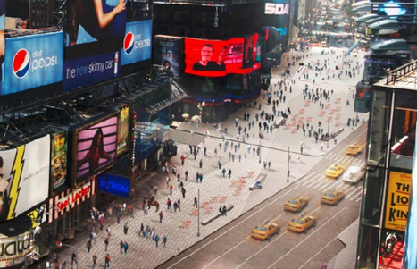 Snøhetta Unveils Plans to Redesign Times Square Pedestrian Plazas | green streets | Scoop.it