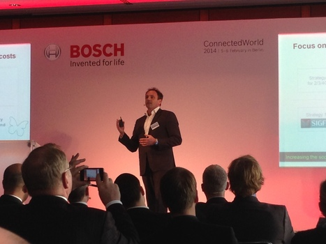 SIGFOX presenting at the Bosch Connected World conference in Berlin, Germany | SIGFOX | Scoop.it