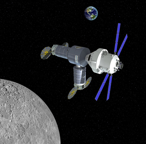Orbital ATK Proposes Man-Tended Lunar-Orbit Outpost by 2020 for Link Up with NASA's Orion - Universe Today | Space matters | Scoop.it