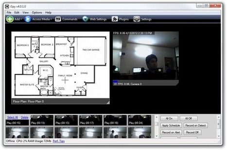 iSpy: Use Webcams For Remote Surveillance, Receive Disturbance Alerts   Time to Learn   Scoop.it
