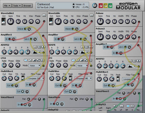 Sonigen Modular   Free Modular Synth   How To Make Electronic Music   DIY Music & electronics   Scoop.it