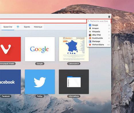 Marre de Chrome et de Firefox ? Passez donc sur Vivaldi ! - Presse-citron (Blog) | netnavig | Scoop.it