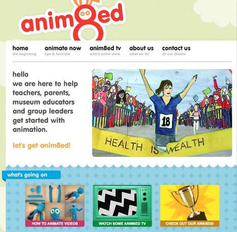Anim8ed - helping you get started with animation | talkPrimaryAnimation | Scoop.it