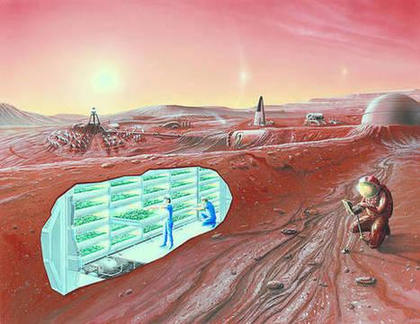 Elon Musk, su Marte sogno colonie sotto cupole di vetro - Spazio & Astronomia - Scienza&Tecnica | Marte | Scoop.it