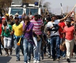 Platinum sector strike in South Africa leads to first death   Sustain Our Earth   Scoop.it