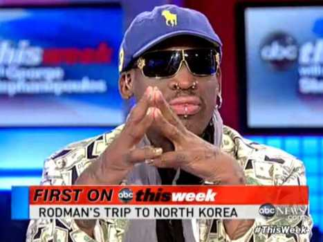Dennis Rodman To Train North Korea Basketball For Olympics ... | Basketball History | Scoop.it