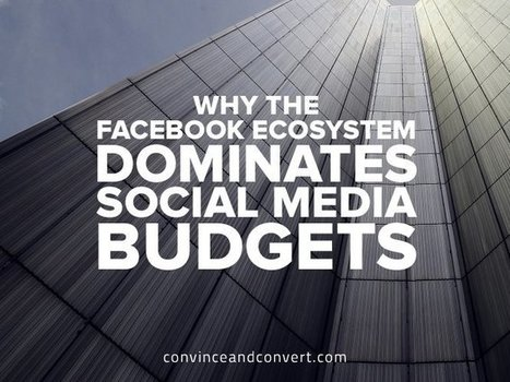 Why The Facebook Ecosystem Dominates Social Media Budgets {research} | Business: Economics, Marketing, Strategy | Scoop.it