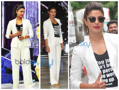 Priyanka's Ramp Style For Mary Kom Promotions | HANDMADE JEWELLERY & FASHİON | Scoop.it