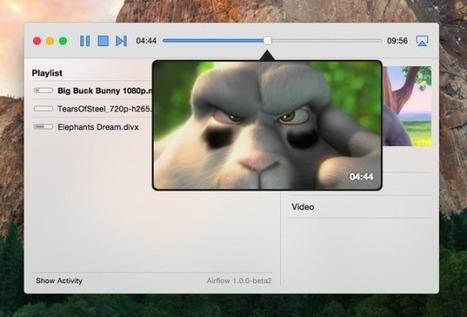Airflow - Pour streamer depuis votre ordinateur vers votre Chromecast / Apple TV | Céline F | Scoop.it