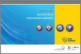 Etat des lieux du numérique dans l'espace francophone | Veille pédagogie numérique | Scoop.it