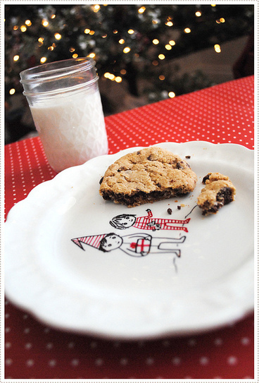 cookie plate for Santa | Kids Craft | Scoop.it