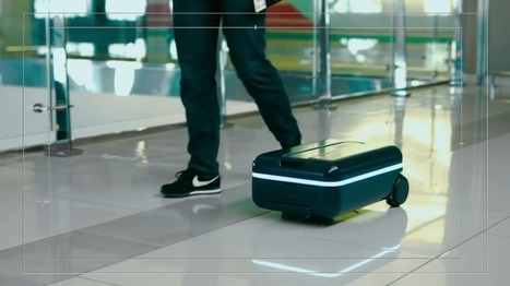 This suitcase will follow you home like a puppy   ObjetsCo   Scoop.it