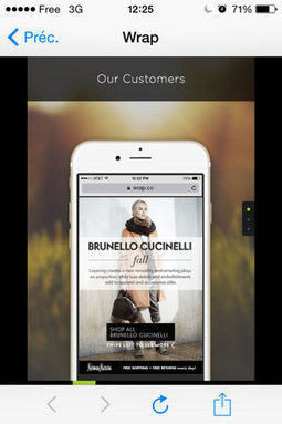 Wrap lève 12,7 millions de dollars pour sa plateforme de storytelling mobile   Clic France   Scoop.it