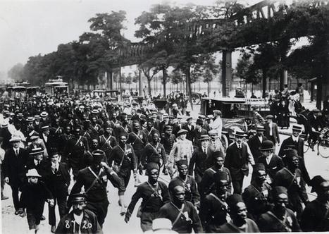 1914 : l'appel à l'Empire | Musée de l'histoire de l'immigration | La guerre de 1914-1918 | Scoop.it