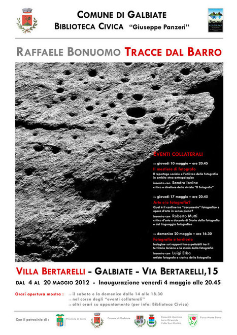 Tracce dal Barro: Fotografia in mostra a Villa Bertarelli - iBrianza - il ... | Fish-Eye Review | Scoop.it