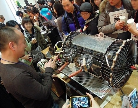 Two steampunk espresso machines running on Arduino Mega | Raspberry Pi | Scoop.it