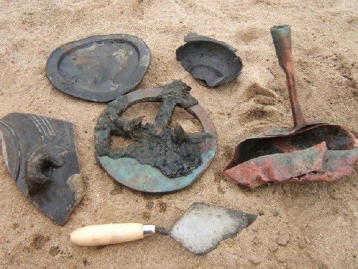 Treasure-filled Portuguese shipwreck found in desert coastline of Namibia | The Archaeology News Network | Afrique | Scoop.it