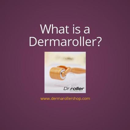 What Is A Dermaroller? by Kaia Vanari | Dermarollers & Skin Care | Scoop.it