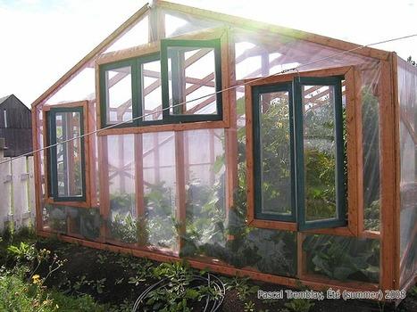 [Coup de ♥] Réalisation d'une serre de jardin par Grandjardinier sur le #CDB | Best of coin des bricoleurs | Scoop.it