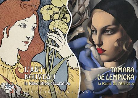 'THE DECORATIVE REVOLUTION' ART NOUVEAU - EXHIBITION / AT PINACOTHEQUE DE PARIS - APRIL 18 / SEPTEMBER 08 -2013   art on dapaper mag   Scoop.it