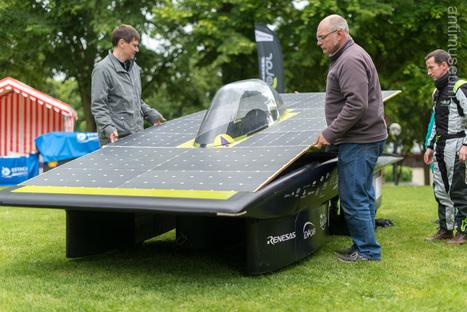HEOL, une voiture solaire qui carbure au digital | Mobilité du futur & Smart City | Scoop.it