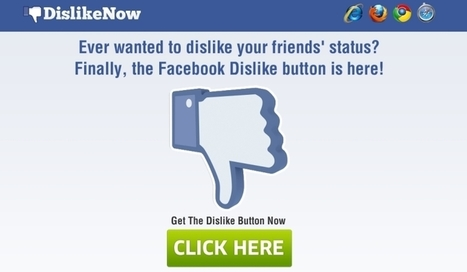 Looking for the dislike button on Facebook? | Marketing Planning and Strategy | Scoop.it