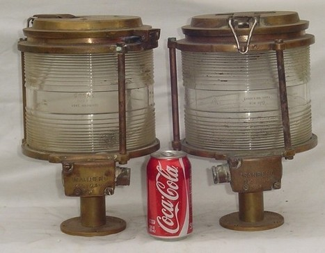 Vintage Brass Light | Nautical Decor | Scoop.it