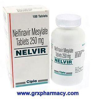 Nelvir (Nelfinavir Mesylate Tablets) | Grxpharmacy | Scoop.it