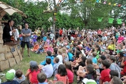 Cap mômes : les bénévoles s'activent | L'info tourisme en Aveyron | Scoop.it