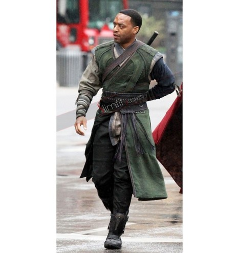 Chiwetel Ejiofor Doctor Strange Green Costume | Replica Movies Leather Jackets | Scoop.it