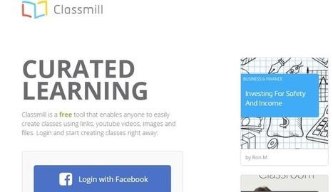 Classmill, una web para crear cursos online - Nerdilandia   El rincón de mferna   Scoop.it