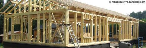 [construction] Une maison bois en deux parties, prête à être assemblée | Immobilier | Scoop.it