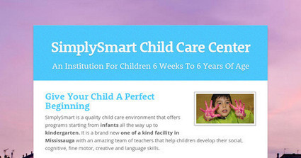 Looking For A Child Care Center To Give Your Child A Perfect Beginning? | Education Pre-School | Scoop.it