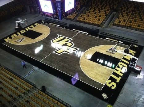 UCF unveils new 'blacktop' court design - CBSSports.com | Sports Facility Management.3100210 | Scoop.it