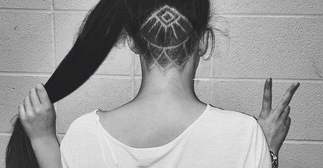 Hot or not: de nieuwe 'undercut tatoeage' haartrend | kapsel trends | Scoop.it